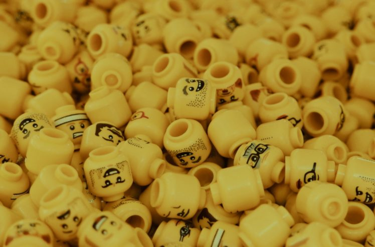 Image of LEGO heads