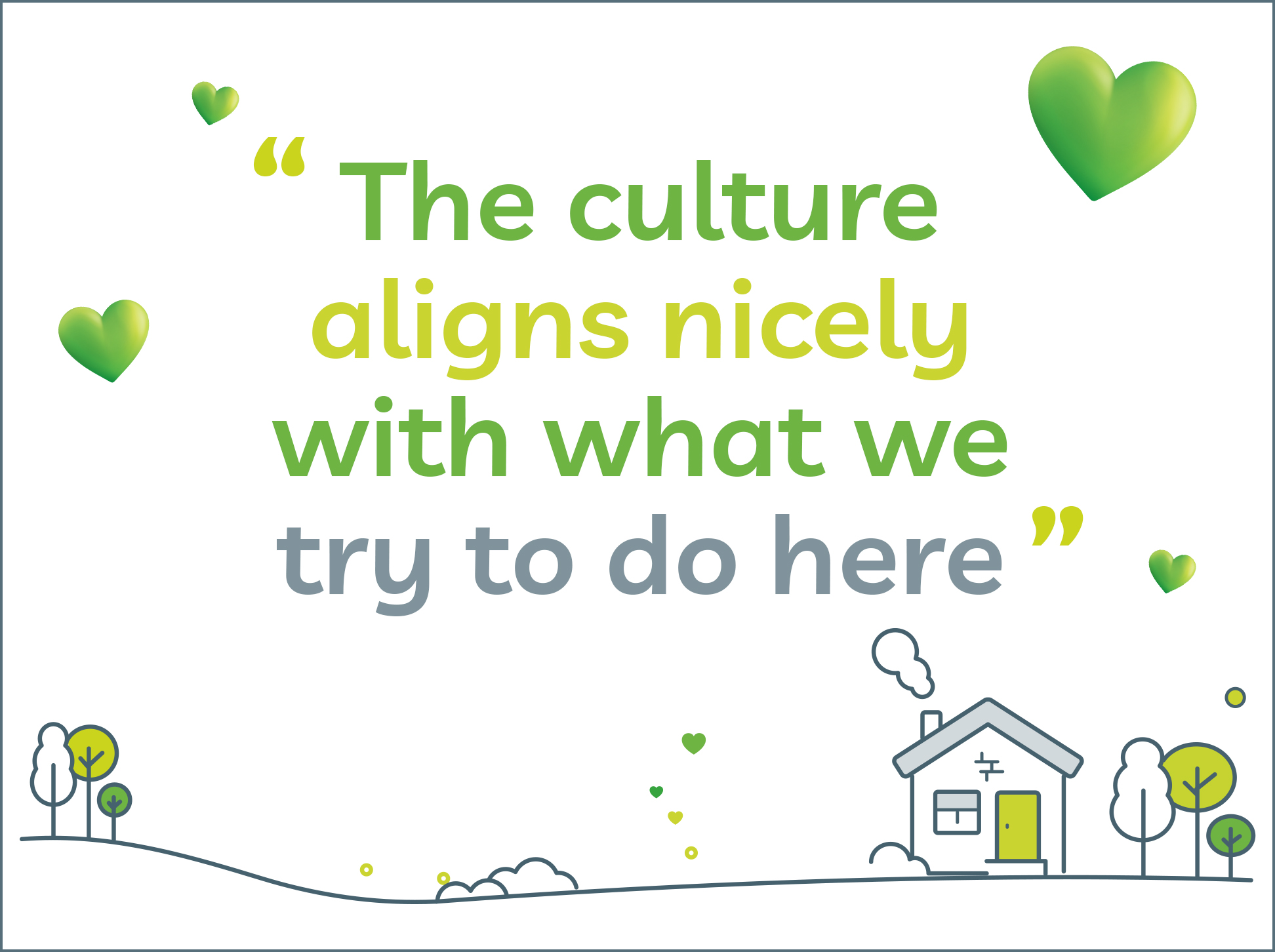 Image of LV= GI quote 'The culture aligns nicely with what we try to do here'