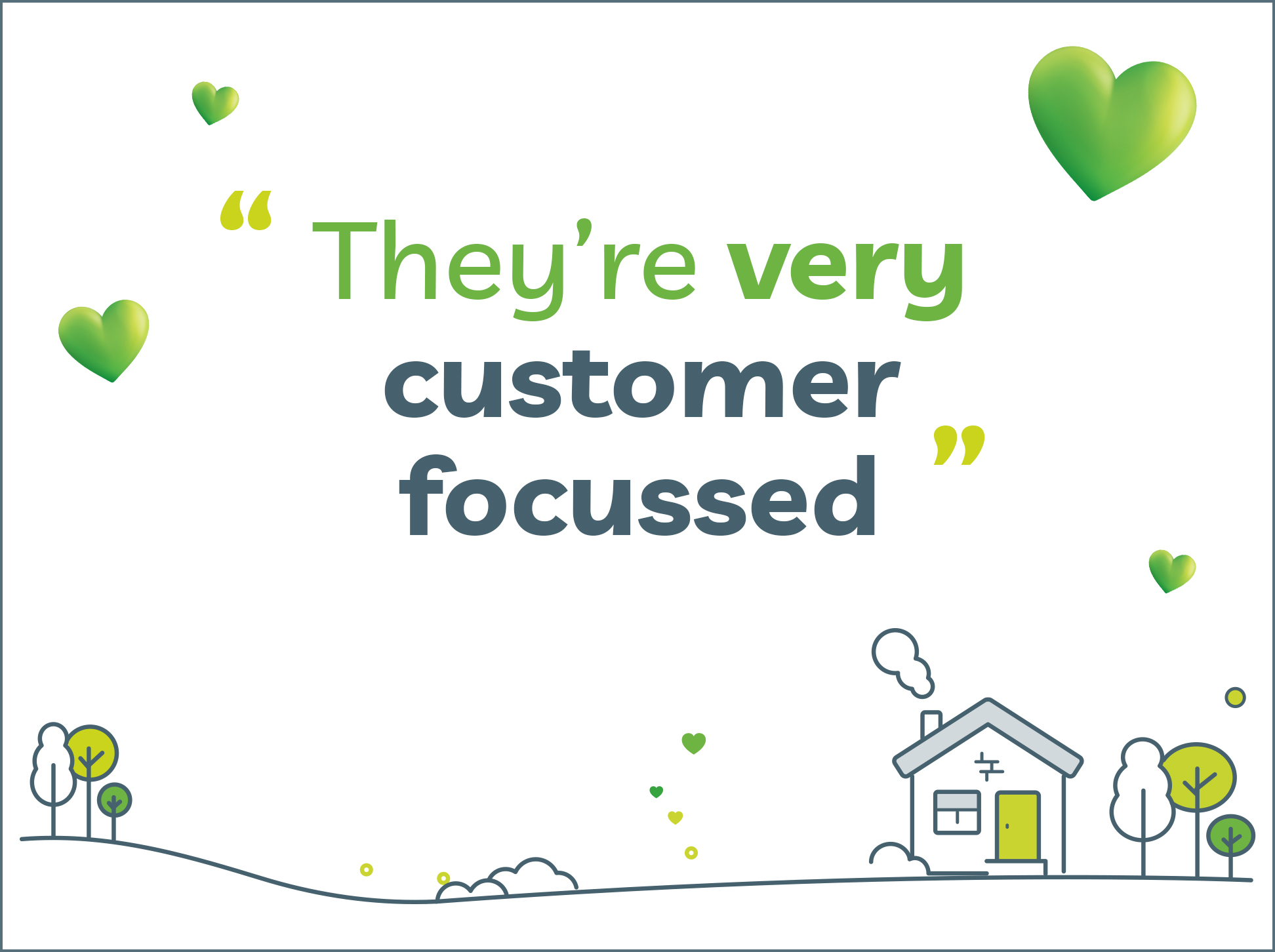 Image with LV= GI quote 'They're very customer focussed'