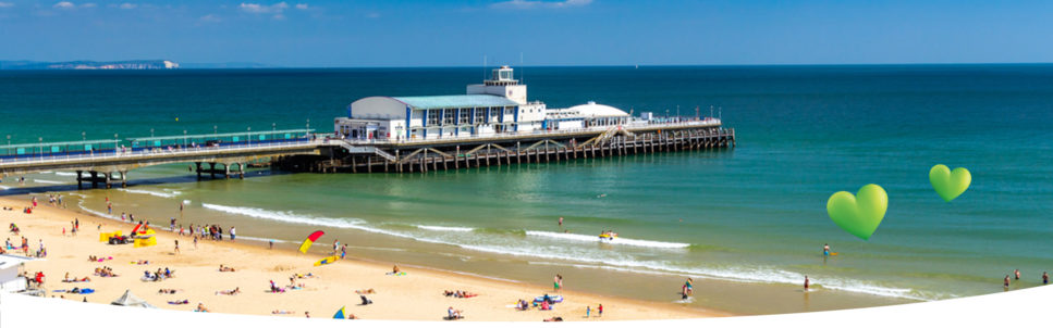 Image of Bournemouth Pier from LV= GI website