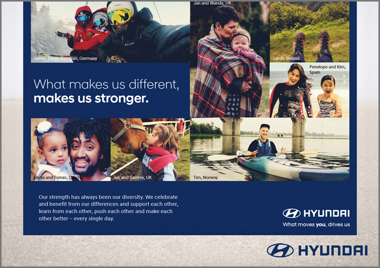 Image of Hyundai EVP rollout collateral