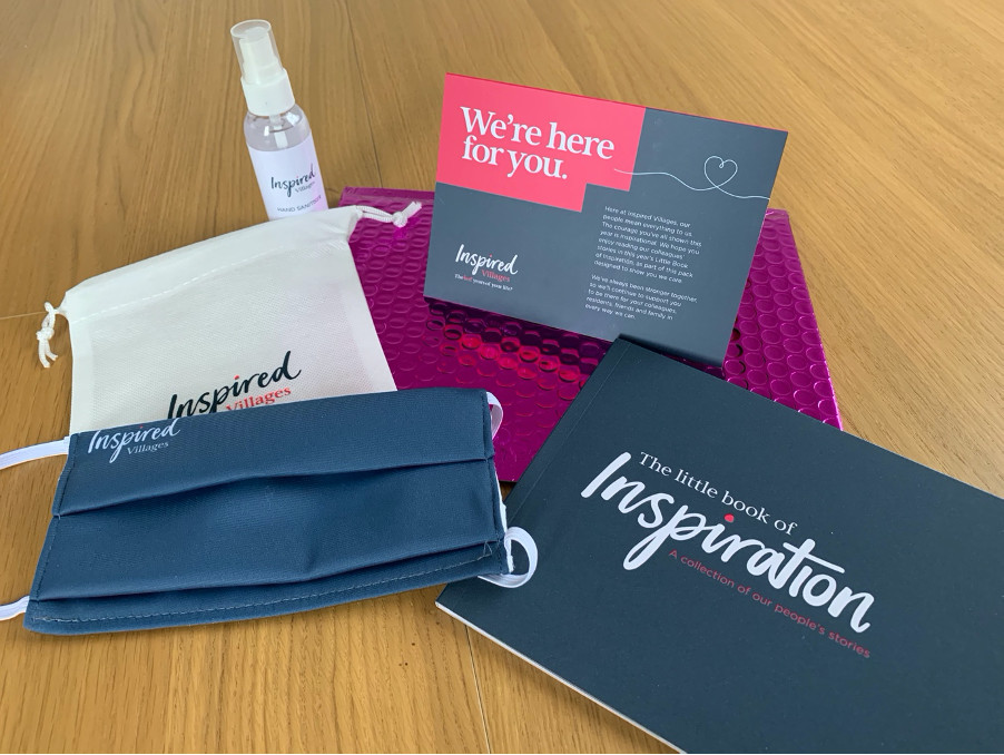 Image of Inspired Villages care kit